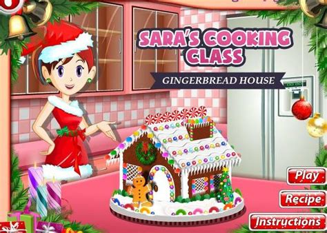 sara s cooking class gingerbread house sara cooking class game gingerbread house recipe online