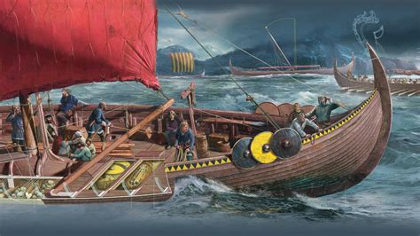 viking boats pictures the realm of the vikings