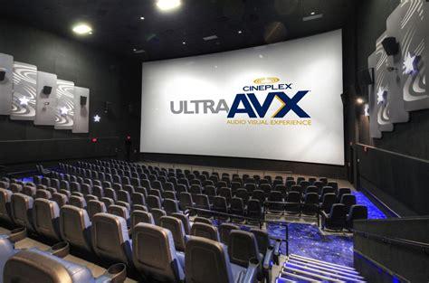 cineplex rathburn ultraavx review quot the next level of cinema quot