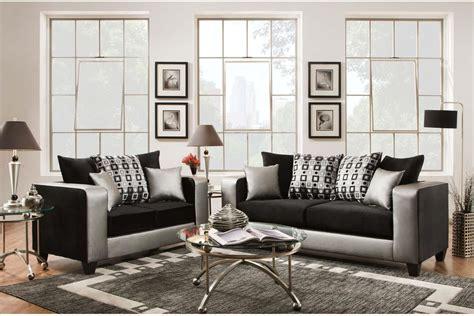 velvet living room furniture 32230 riverstone implosion black velvet living room set