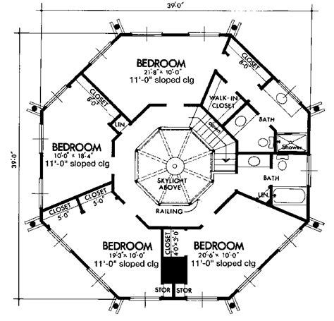 small octagon house plans studio design gallery