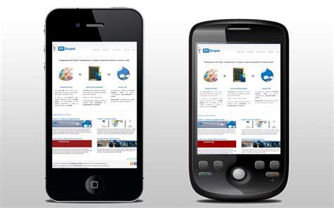 drupal mobile realizzazione siti e temi drupal per iphone e android