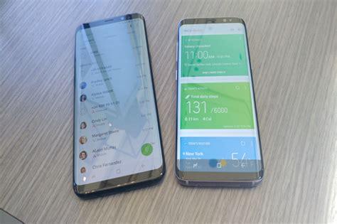 Foto Dan Samsung empat perbedaan mencolok samsung galaxy s8 dan s8