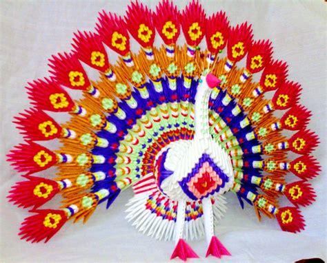 Origami 3d Peacock - peacock album mohammad nofal 3d origami