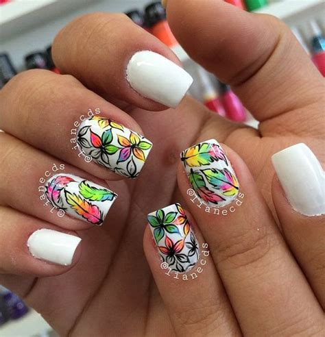 subtle nail designs women in there 40s 50 white nail art ideas jewe blog