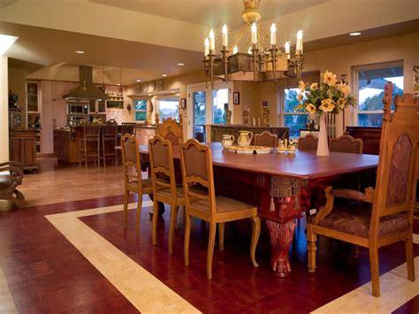 dining room floor cork flooring for your kitchen hgtv