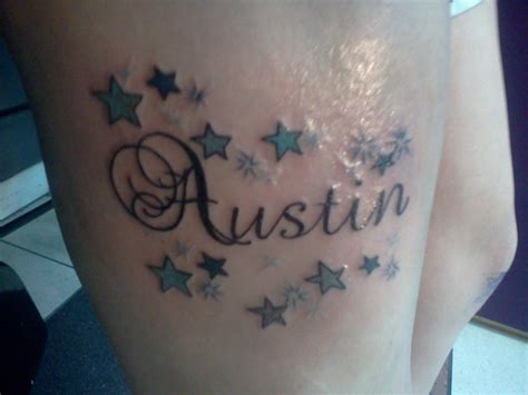 austin tattoos s name kaspermoonshade