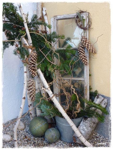 Winterdeko Garten die besten 17 ideen zu weihnachtsdeko aussen auf