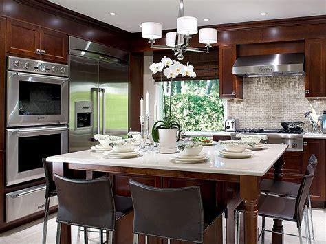 bright small kicthen with marble countertop wooden 52 dark kitchens with dark wood and black kitchen cabinets