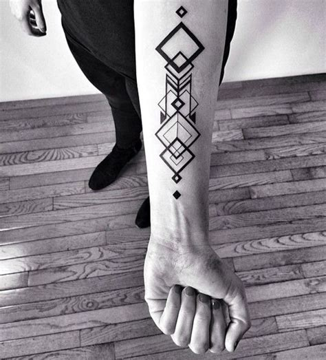 geometric forearm tattoo 100 breathtaking geometric designs