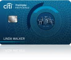 citi thankyou 174 preferred card credit card for college students citi