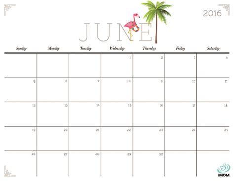 june 2017 calendar cute calendar printable free