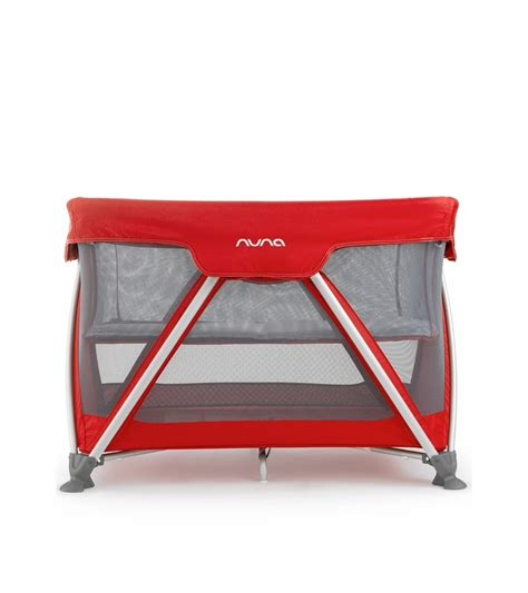 Mini Travel Crib Nuna Mini 2013 Travel Crib Scarlet
