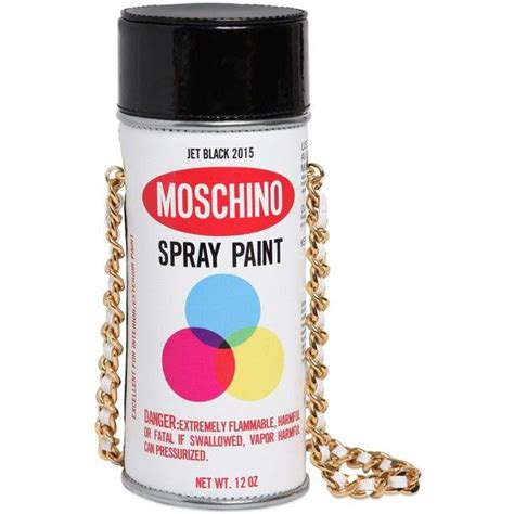 Moschino Spray Paint moschino spray paint patent leather bag 795 liked on