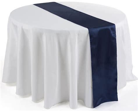 navy blue table runner navy blue satin table runners 12 x 108 overlays for weddings