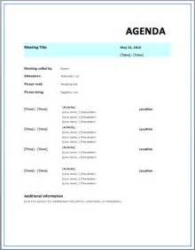 meeting agenda templates free strategic meeting agenda template 187 printable meeting