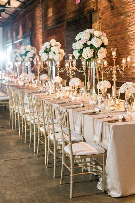 #pink and #gold #wedding #reception @weddingchicks