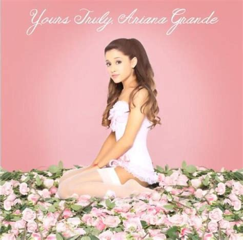 Grande Yours Truly Cd grande i make experimental and with mac miller news digital