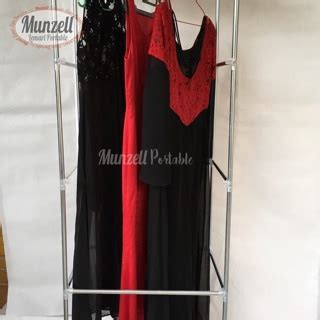 Lemari Pakaian Maroon lemari kain portable munzell type lpf 02 maroon lemari