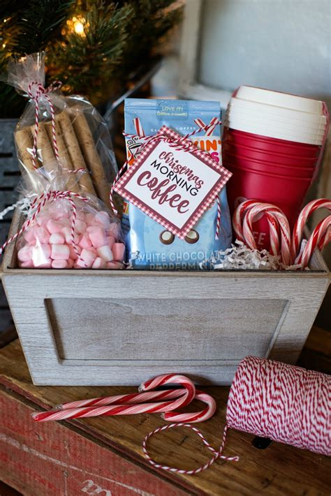 christmas morning coffee gift basket a night owl blog