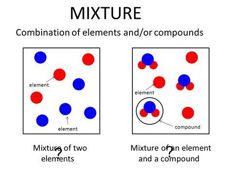 element matter matter mixtures ppt