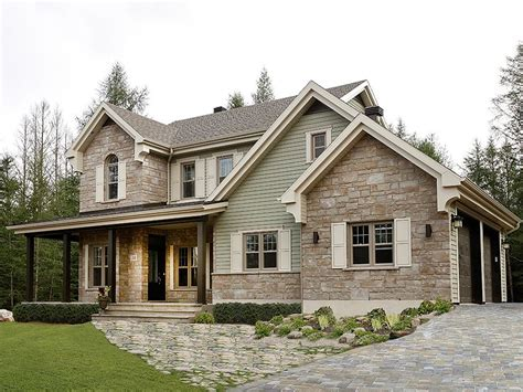 Country House Plans With Pictures by Country House Plans Two Story Country Home Plan 027h