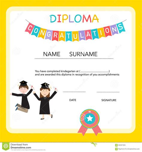 preschool graduation certificates templates preschool graduation certificate template eliolera