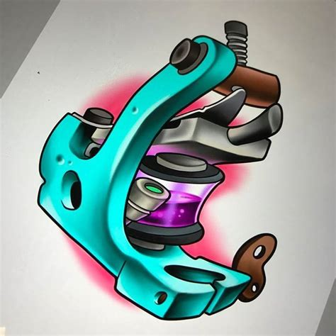 tattoo machine designs got this victor chil inspired machine design up