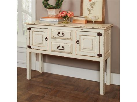 distressed sofa table with drawers distressed console table drawers console table