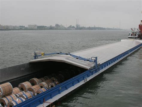 schip covers blommaert frisian hatch covers for inland vessels