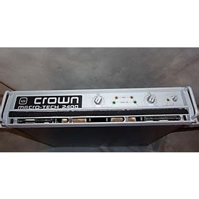 Power Lifier Crown Macro Tech used crown macro tech 2400 power guitar center