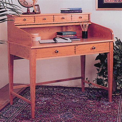 woodworking plans writing desk rolltop writing desk woodworking plan from wood magazine