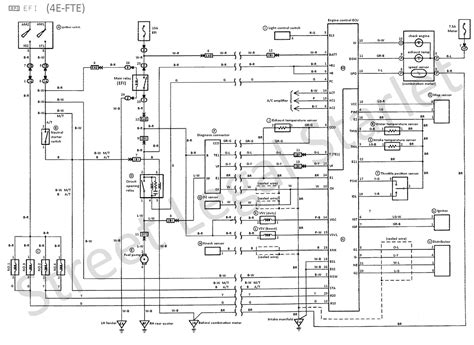 ecu pin out diagram toyota gt turbo