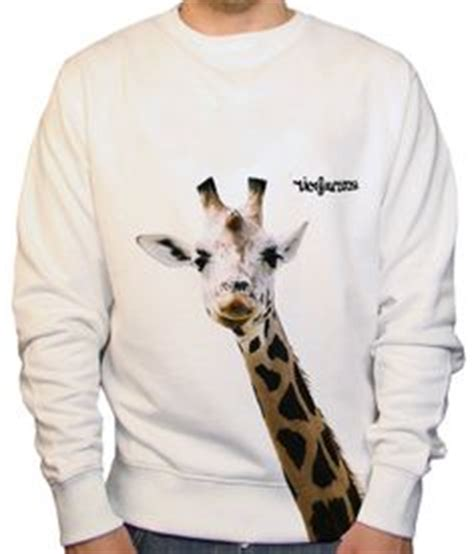 Sweater Giraffes White Putih 1 sweaters on sweatshirts hoodie and sweater