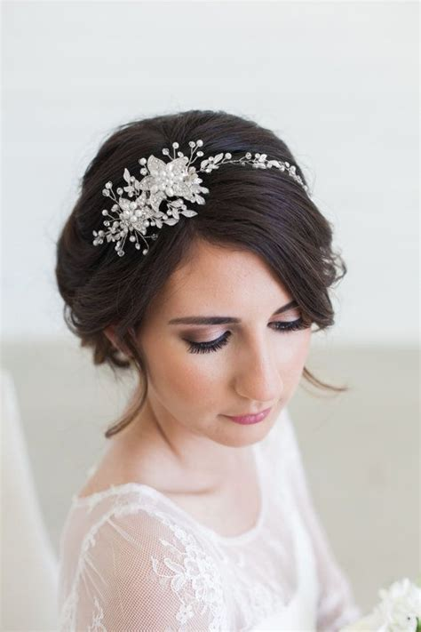 Wedding Hair With Headpiece by 180 Best Images About Bridal Hair Accessories Headpieces