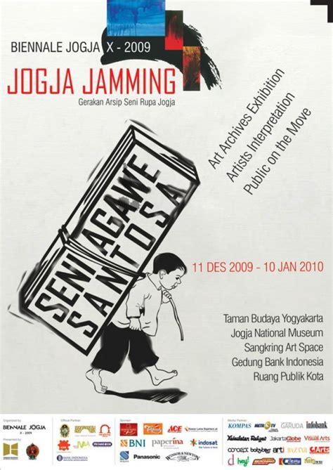 design poster jogja biennale jogya x 2009