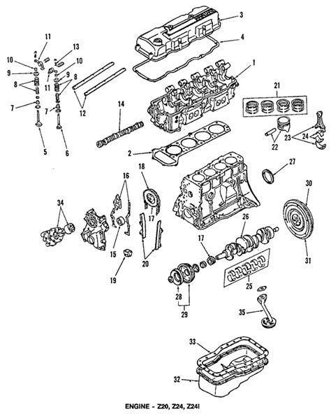 nissan 1986 d21 4x4 exhaust diagram nissan free engine