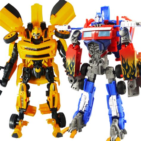 New Deformation Robot Tranformer Bumble Bee Murah 4 ares hypervariable deformation king kong bumblebee optimus prime robot boy gift free