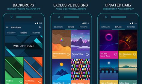 wallpaper apps for android 10 best android wallpaper apps