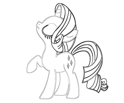rarity pony coloring page rarity 5 jpg coloring home