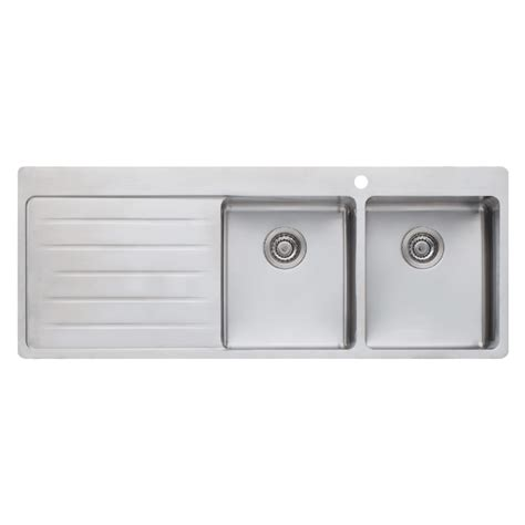 Buy Oliveri Sonetto Double Bowl Sink Rh Bowl Oliveri Kitchen Sinks