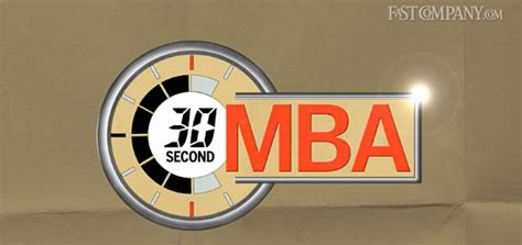 How Did It Take To Get Your Mba by 30 Second Mba Power Of Thought