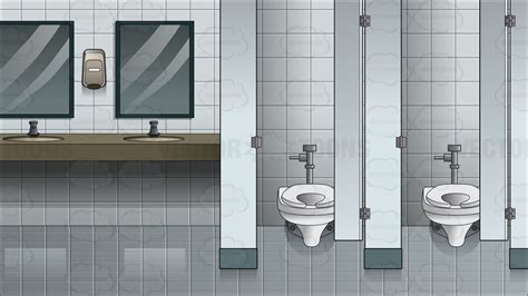 Bathroom Fixture Ideas by Inside A Women S Public Bathroom Background Cartoon