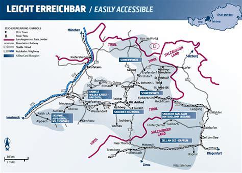 alpen urlaub österreich skigebiete 214 sterreich karte my