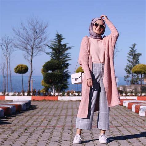 hijab long  simple style tres chic  hijab