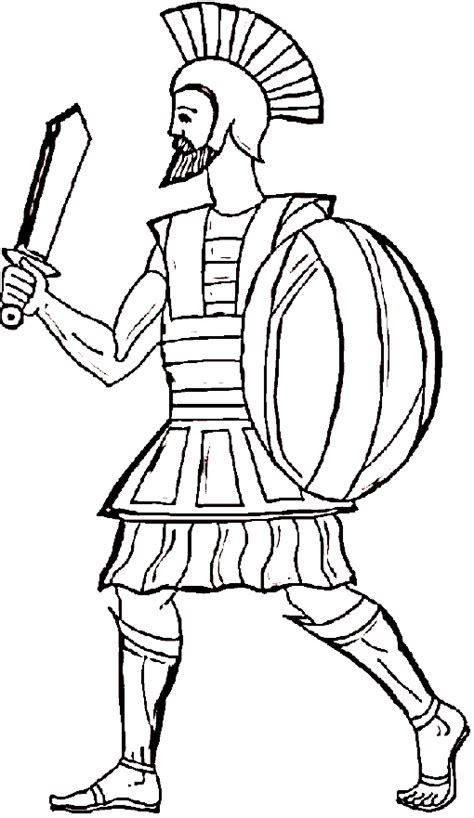 ancient king colouring pages