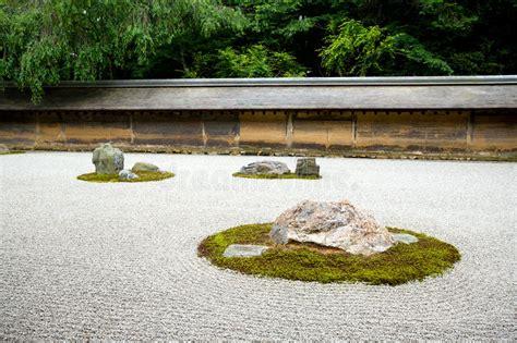 Rock Garden Kyoto Zen Rock Garden Kyoto Japan Stock Photo Image 5579526