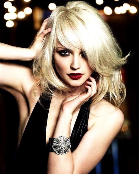 Platinum Blonde Hairstyles For Round Face   15 best hairstyles for round faces part two hair