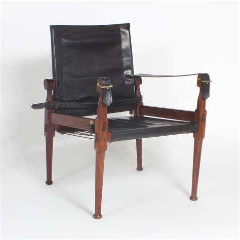 Bros H 22 peshawar caign or safari chairs and ottoman for sale at