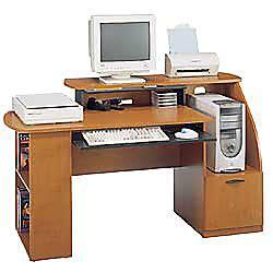 multi level computer desk bush multi level computer desk 35 12 h x 64 34 w x 30 38 d